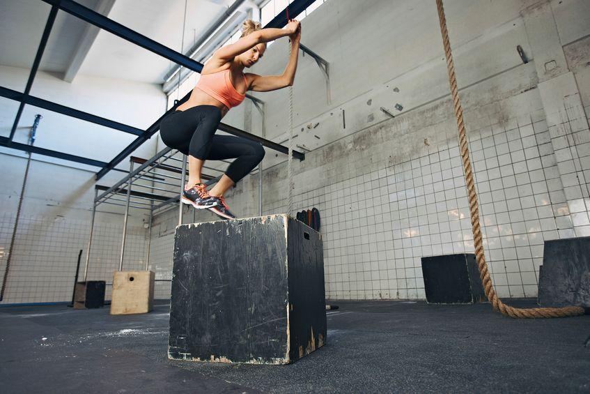 Plyometrics Box Jump