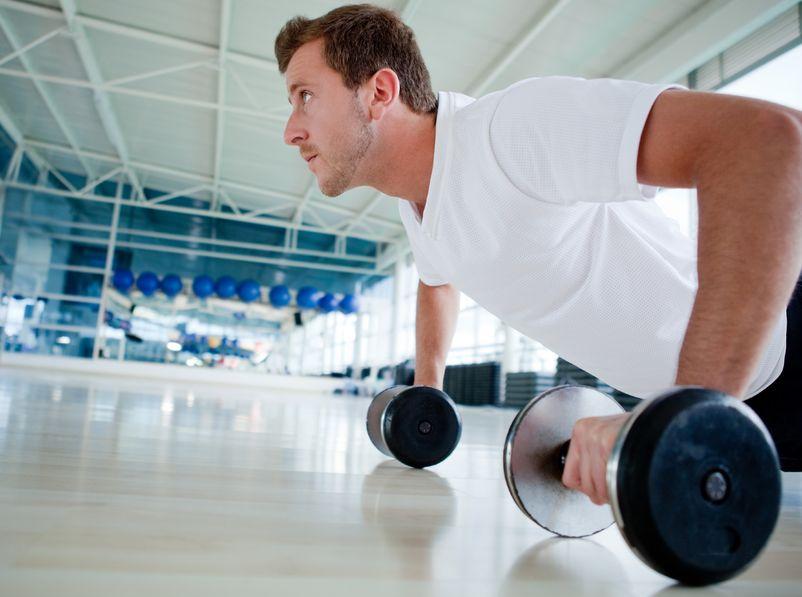 exercise myths pushups