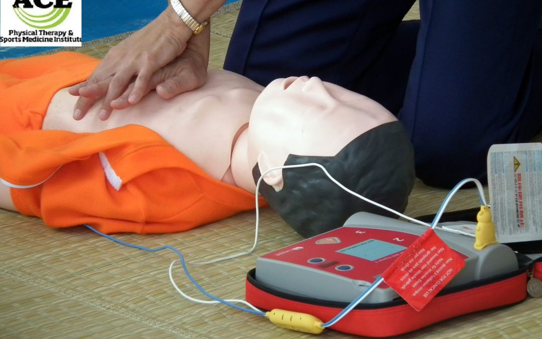 First Aid / CPR / AED Certification at ACE Physical Therapy & Sports Medicine Institute