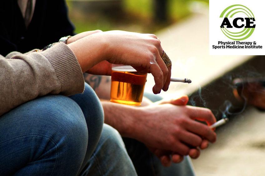 38027298 - smoke and drink