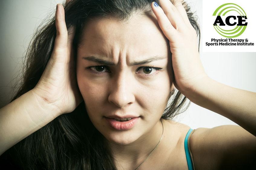 47496458 - a woman with a headache