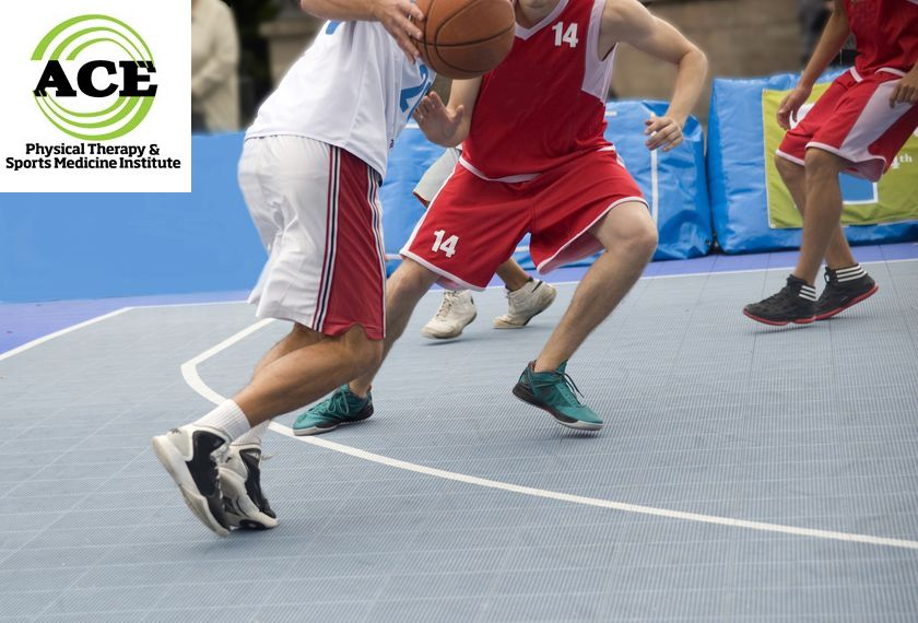 23327423 - street basketball  competition of amateur commands