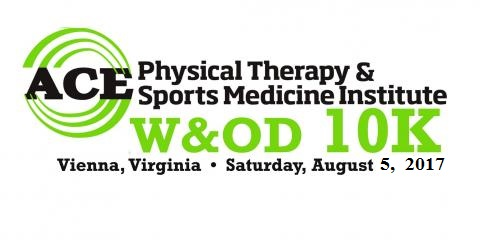 ACE PHYSICAL THERAPY & SPORTS MEDICINE INSTITUTE W&OD 10K